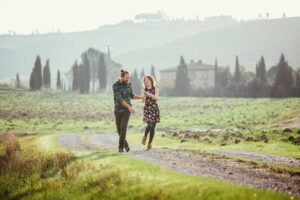 Engagement Shooting in Toskana