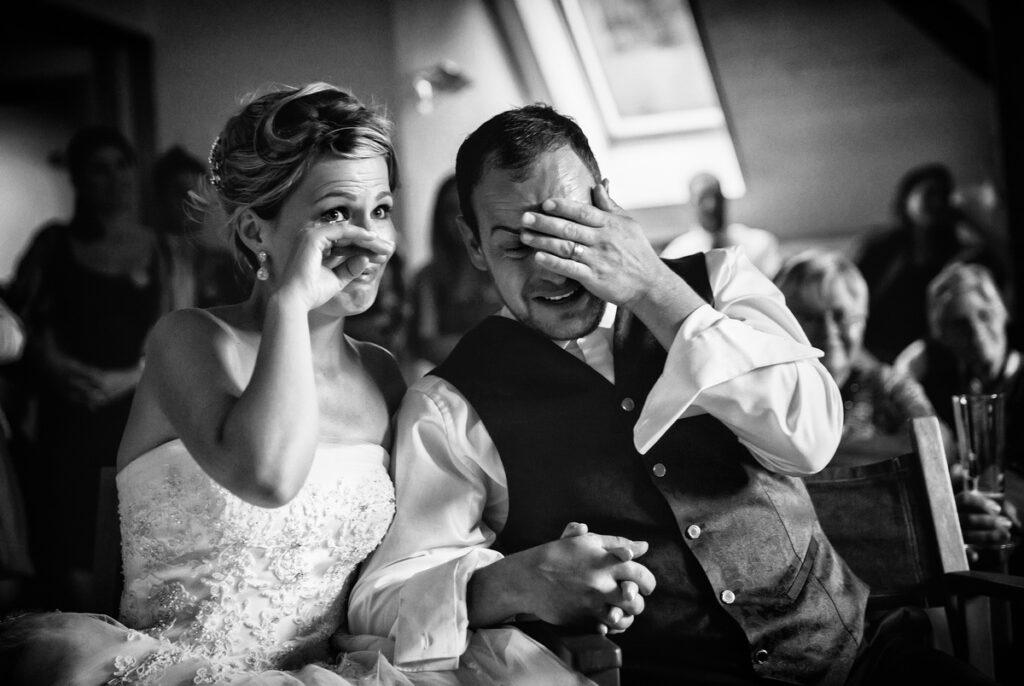 Hochzeit Emotionen