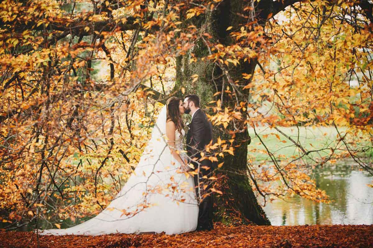 Herbst Hochzeit