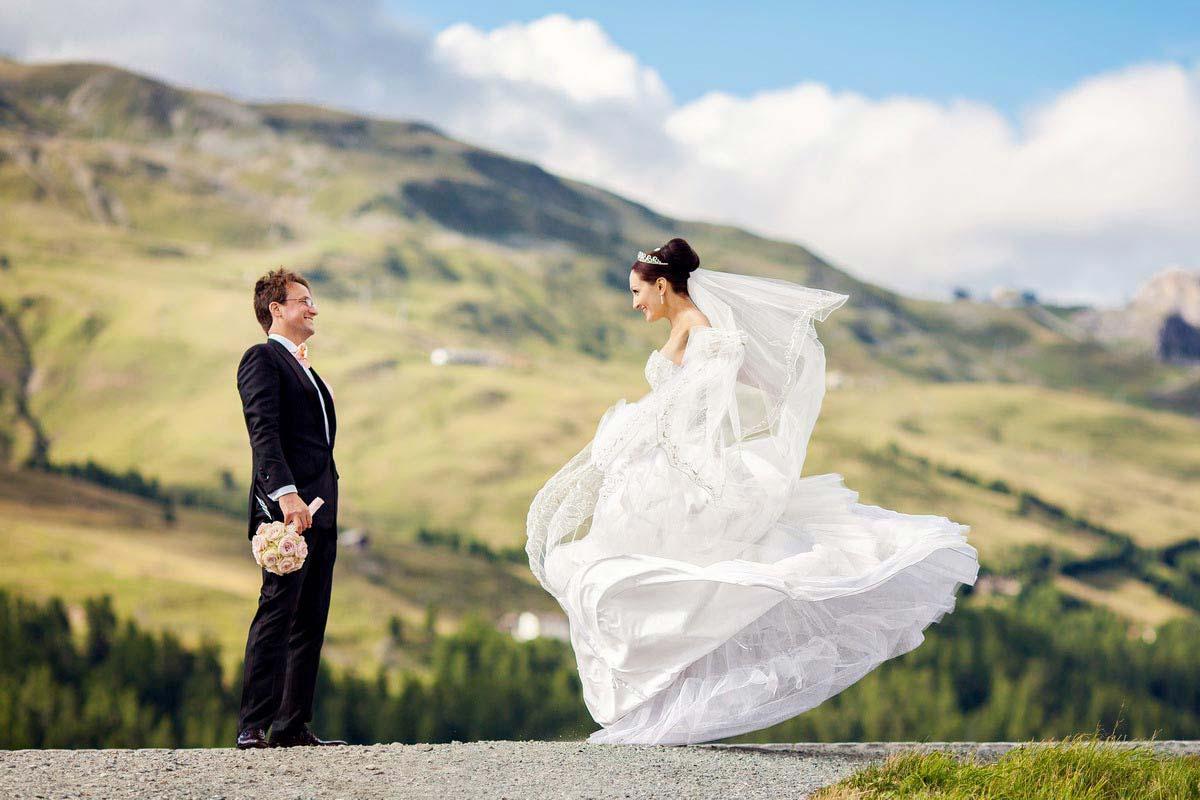 Hochzeit Sankt Moritz